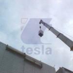 maniobras especiales plantas industriales mexico tesla energia creativa